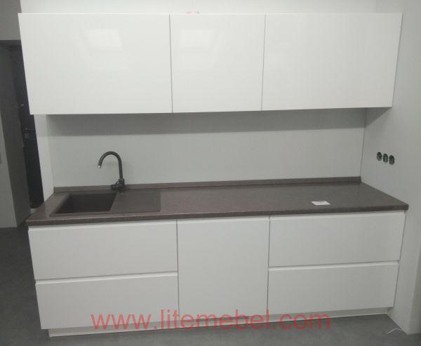 Кухня крашенными с фасадами Система КВ, Проект № 2132