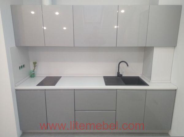 Кухня крашенными с фасадами Система КВ, Проект № 2229