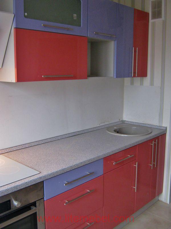 Кухня крашенными с фасадами Система, Проект № 2015
