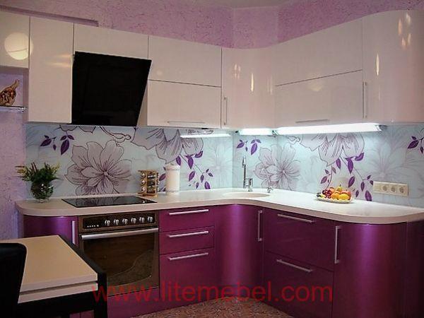 Кухня крашенными с фасадами Система, Проект № 2584