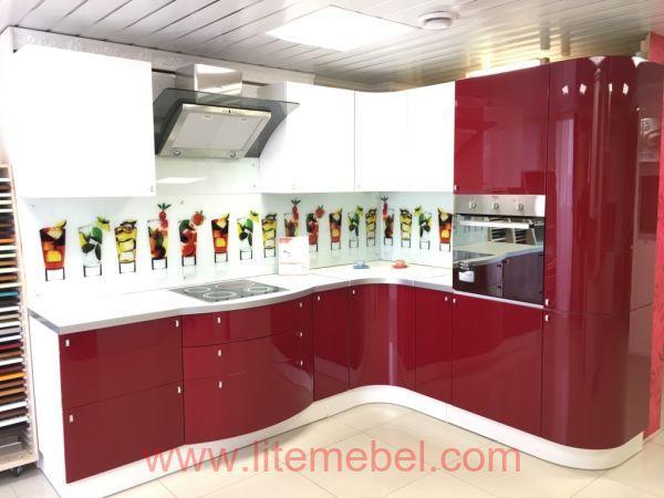 Кухня крашенными с фасадами Система, Проект № 2145