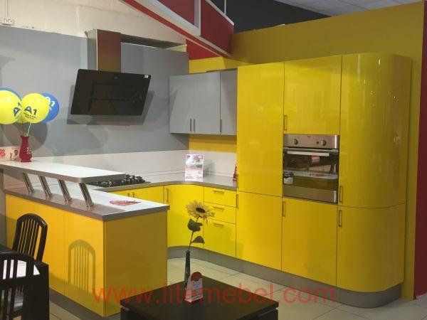 Кухня с фасадами Система, Проект № 2314